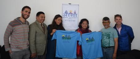 2018 Humanitarian Mission visit with the Micro Credit Loan distributors.